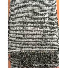 Mode Warm Schwarz und Weiß Schal