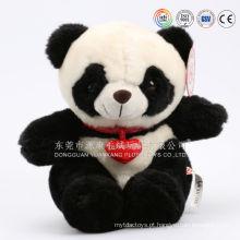 Brinquedo De Pelúcia Auditado ICTI Panda Stuffed Animal Toy / Pelúcia Macia Panda / Brinquedos De Pelúcia Panda De Pelúcia