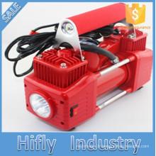 HF-5065 DC12V 2 Cylindre Mini Voiture Compresseur D'air Portable Heavy Duty Air compresseur Pneu gonfleur Pompe