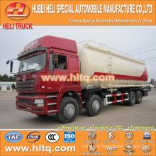 SHACMAN F3000 8x4 flour transportation vehicle 40M3 340hp Weichai power