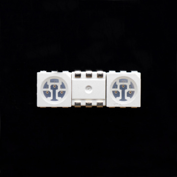 5050 SMD LED 590nm Gul Surface Mount
