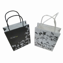 Saco de compras personalizado do saco de papel do saco do presente