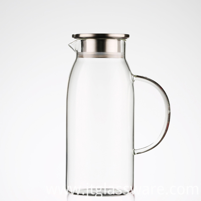 Cold Glass Water Pitcher,