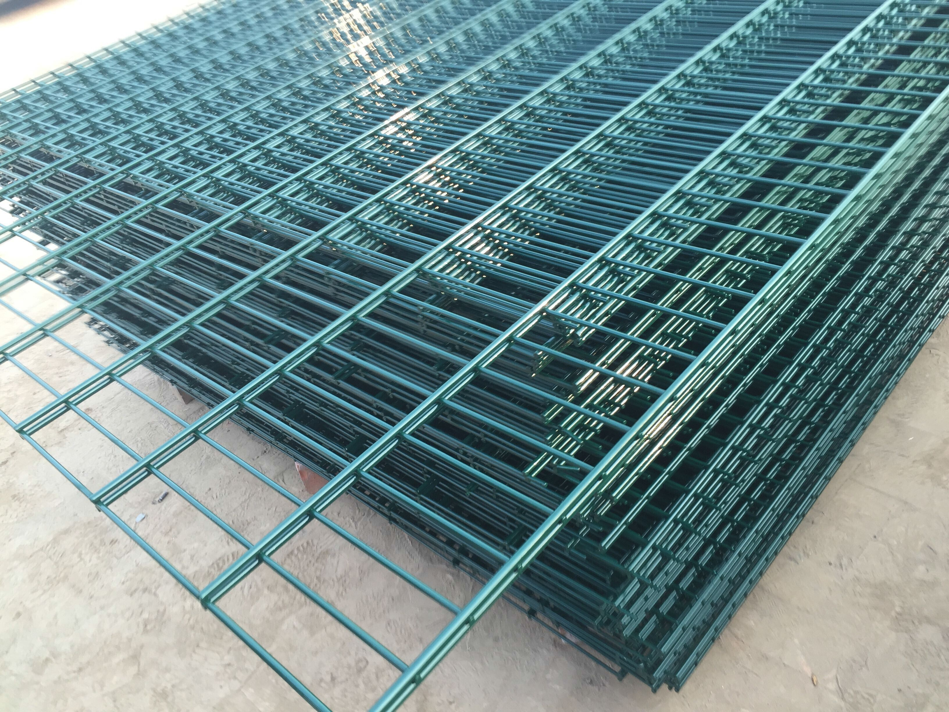 New machine production double wire fencing