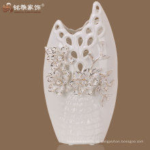Einfache Entwurfsqualitäts-moderne Blumen-keramische Dekorationvase
