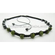promotion gift 7PCS Crystal ball shamballa necklace 7 PCS Crystal ball shamballa necklace