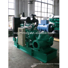 High pressure pump set driven by diesel engine