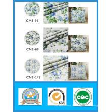 100% coton imprimé tissu de toile de fleur en stock pour les sacs et chaussures poids 180GSM largeur 150cm