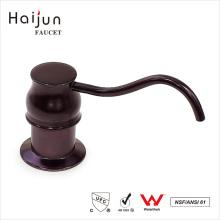 Haijun Wholesale Prices Round Bathroom Sink Metal Liquid Soap Dispensers