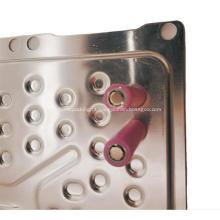 exemplo de design de placa de resfriamento de água de alumínio