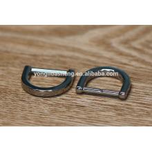 Shiny D ring and custom metal accessories for handbag