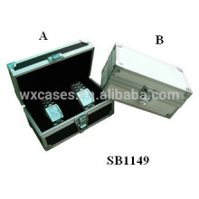 Aluminium-Uhrenboxen für 2 Uhren aus China Fabrik Großhandel