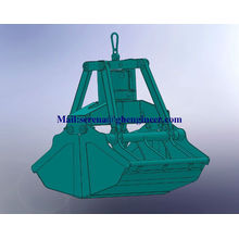 GHE Electro-Hydraulic Clamshell Grab Motor Grab Marine Grab