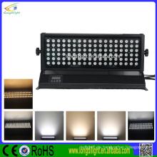 High Luminous DMX Wireless 108 * 1 / 3W RGB Wasserdichte Outdoor LED Wall Washer Light