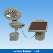 Luz de sensor LED de 14PCS com painel solar