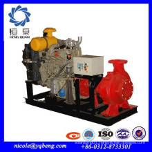 Professional supply horizontal high quality diesel engine fire fighting pump with price