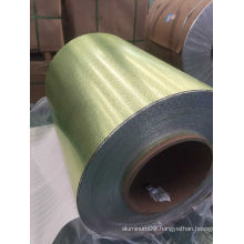 Aluminum Embossed Sheet Coil Pebble Pattern for Roofing