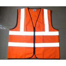 Высокая видимость 120 г Светоотражающий жилет (оранжевый)