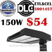 ETL DLC aufgeführt 5 Jahre Garantie hohe Effizienz 120lm / w 347V 480V LED Schuhkarton Nachrüstsätze Straßenlaterne 100W 150W 200W 250W 300W