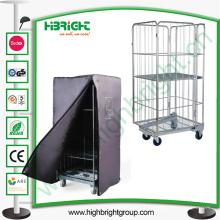 Chariot logistique de stockage de cargaison de grillage