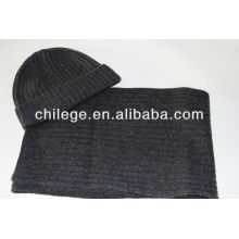 Cashmere knitted caps/hats