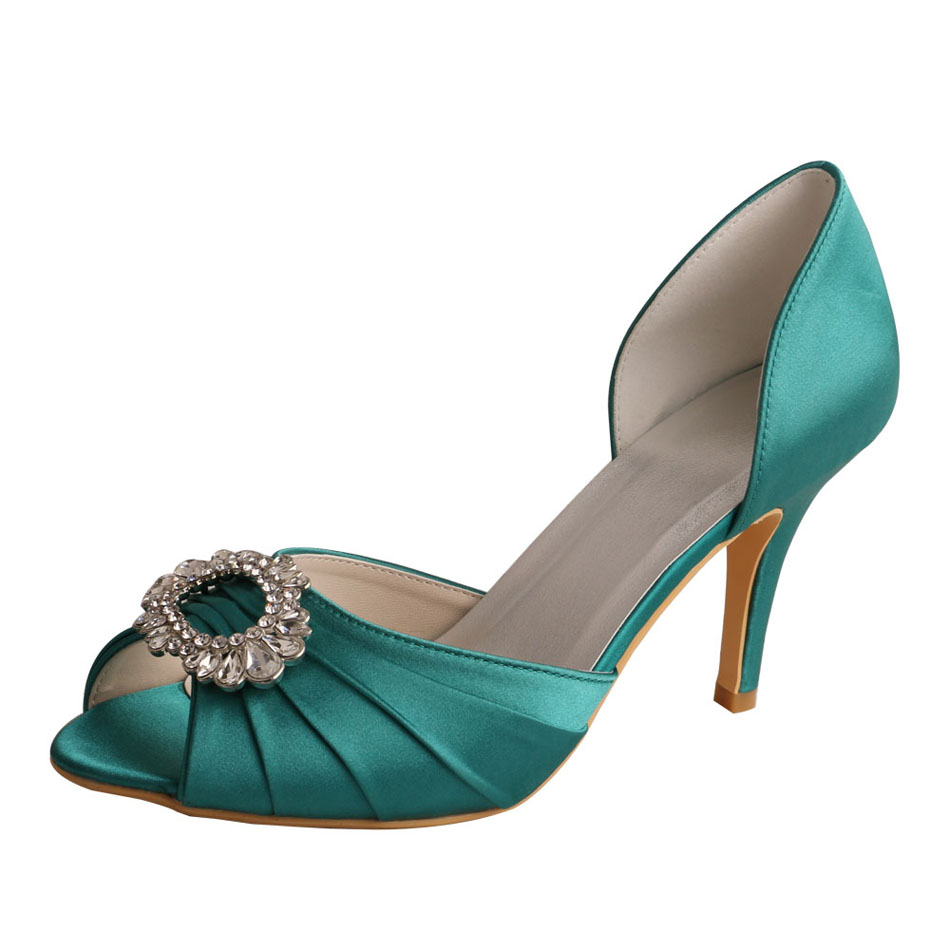 Teal Wedding Shoes