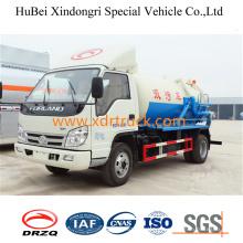 Foton 4cbm Waste Water Sewage Suction Truck Euro4