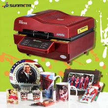 Sunmeta factory supply 3d heat transfer machine heat press machine sublimation printing machine