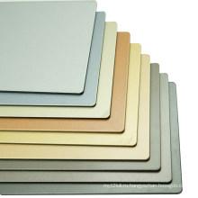Декоративные однотонные панели ACP толщиной 3 мм