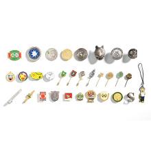 Soft Enamel Stamped Metal Pins