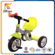 Simple Iron Kids 3 Wheel Tricycle with Horn