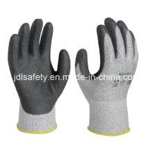 Вырезать устойчивость работы перчатку с Сэнди нитриловое покрытие (NDS8032)