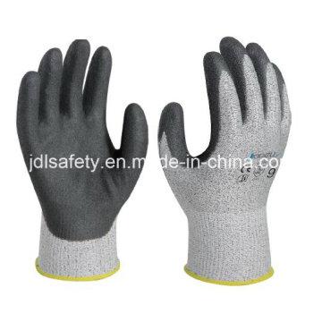 Gants de travail résistant à la coupure avec Sandy Nitrile enduction (NDS8032)