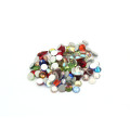 Hot Sale Rhinestones Hotfix Crystals Diy Glitter Glass AB Rhinestones Flatback Strass Rhinestones