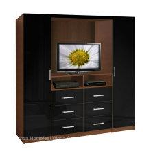 Armario funcional del diseño del armario del diseño TV (HF-EY080318)