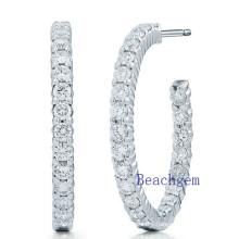 New Trendy 925 Sterling Silver Earrings Set 3A Cubic Zirconia