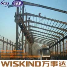 Atelier d'usine de construction de bâtiments en acier