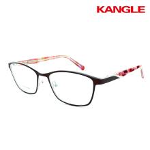 Gafas de lectura ópticas óptimas de la vendimia marco de gafas de metal