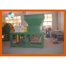 Trituradora de plástico con uno y dos ejes