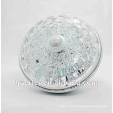 Alta calidad 220v con la lámpara del sensor de movimiento del CE RoHS E27 E26 B22 10W