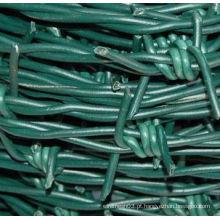 Alta qualidade PVC revestido arame farpado para venda
