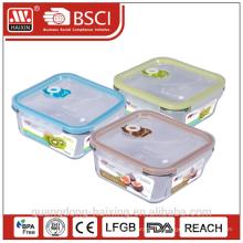 Microwavable Vakuumglas Nahrungsmittelbehälter 700ml