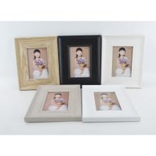MDF marco de papel de embalaje con color de madera