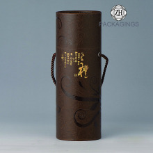 Round+Custom+Wine+Bottle+Tube+With+a+Handle