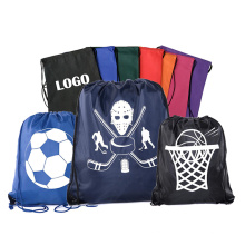 Factory direct sale colorful printing eco cinch drawstring backpack bag wholesale with logo