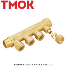 brass color used to make the body manifold