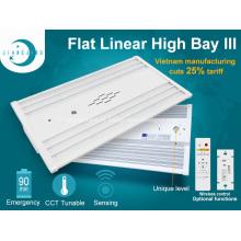 Iluminación industrial 110w CCT Tunable Linear High Bay