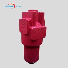 Filtro de óleo da prensa de alta pressão na linha
