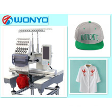 New Single Head Computerized Embroidery Machine Suit for Cap & T-Shirt & Flat Embrodiery