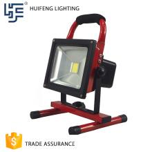 Diseño único Popular luz de inundación portátil con soporte 30w